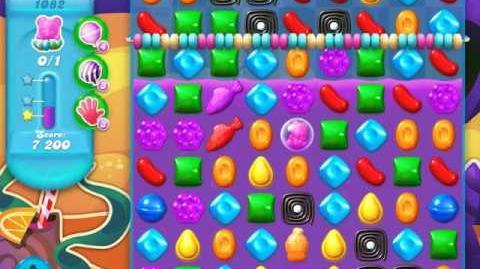 Candy Crush Soda Saga Level 1082 (4th version, 3 Stars)