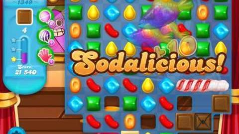 Candy Crush Soda Saga Level 1349 (3 Stars)