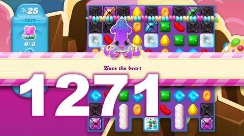 Candy Crush Soda Saga Level 1271 (3 stars, No boosters)