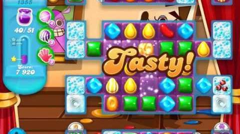 Candy Crush Soda Saga Level 1355 (nerfed)