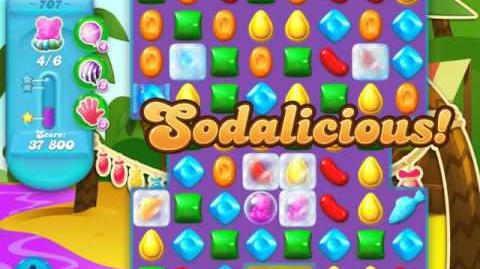 Candy Crush Soda Saga Level 707 (3 Stars)