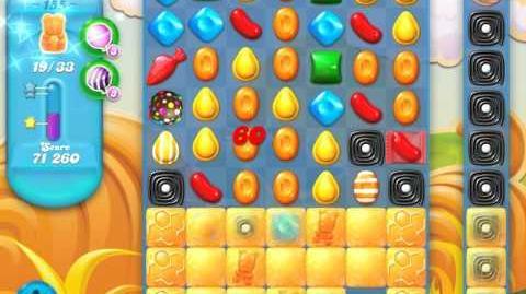 Candy Crush Soda Saga Level 155 (6th version, 3 Stars)