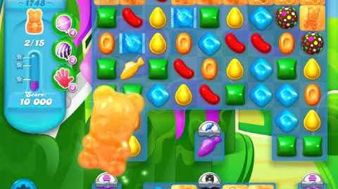 Candy Crush Soda Saga Level 1748 (3 Stars)