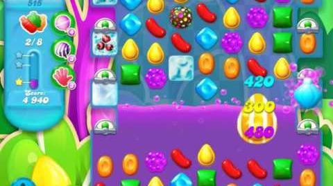 Candy Crush Soda Saga Level 515 (5th version, 3 Stars)