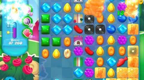 Candy Crush Soda Saga Level 884 (2nd nerfed, 3 Stars)