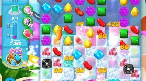 Candy Crush Soda Saga Level 315 (4th version)