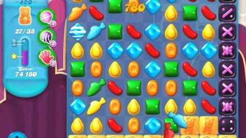 Candy Crush Soda Saga Level 420 (4th version, 3 Stars)