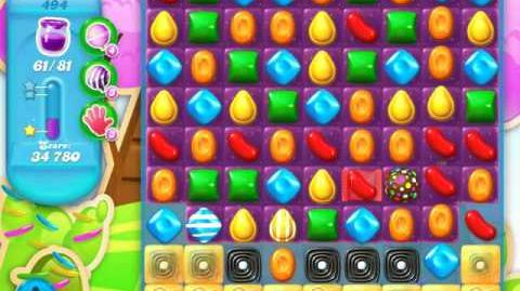Candy Crush Soda Saga Level 494 (5th version)