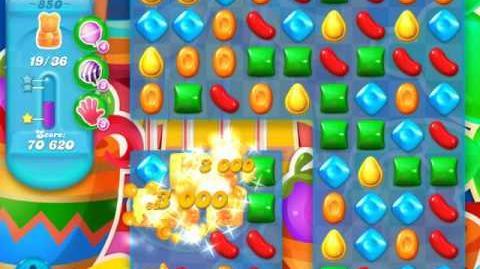 Candy Crush Soda Saga Level 850 (3 Stars)