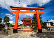 Fushimi Inari pagoda Japan