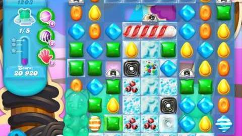 Candy Crush Soda Saga Level 1203 (buffed, 3 Stars)