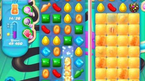 Candy Crush Soda Saga Level 178 (2nd buffed)