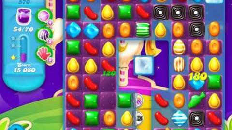 Candy Crush Soda Saga Level 570 (3rd version)