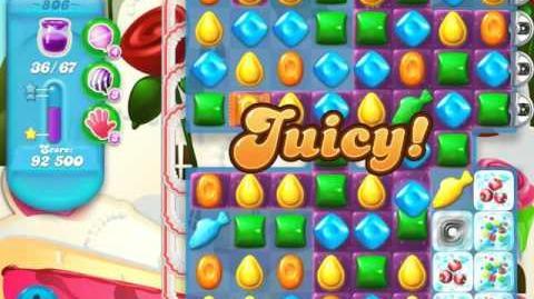 Candy Crush Soda Saga Level 806 (3 Stars)