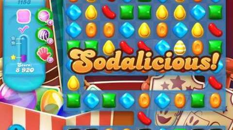 Candy Crush Soda Saga Level 1153 (2nd buffed, 3 Stars)