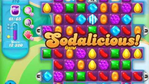 Candy Crush Soda Saga Level 270 (2nd buffed, 3 Stars)