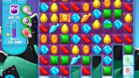 Candy Crush Soda Saga Level 798 (4th version, 3 Stars)