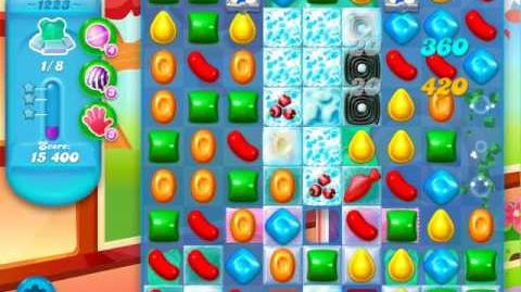 Candy Crush Soda Saga Level 1223 (2nd nerfed)