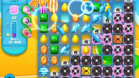 Candy Crush Soda Saga Level 1387 (3 Stars)
