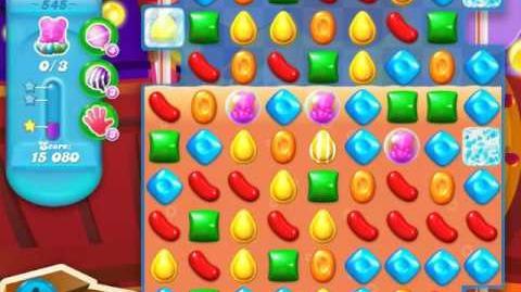 Candy Crush Soda Saga Level 545 (7th version, 3 Stars)