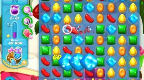 Candy Crush Soda Saga Level 816 (2nd buffed)