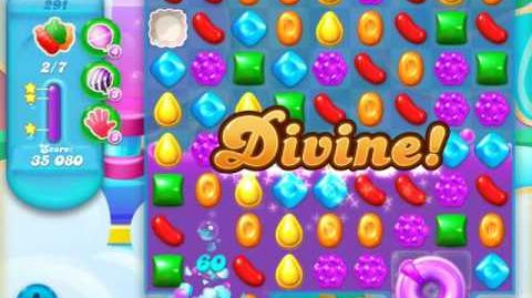 Candy Crush Soda Saga Level 291 (nerfed, 3 Stars)