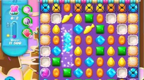 Candy Crush Soda Saga Level 63 (2nd nerfed, 3 Stars)