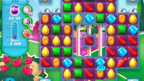 Candy Crush Soda Saga Level 883 (nerfed, 3 Stars)