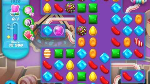 Candy Crush Soda Saga Level 1020 (2nd nerfed, 3 Stars)