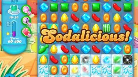 Candy Crush Soda Saga Level 830 (5th version)