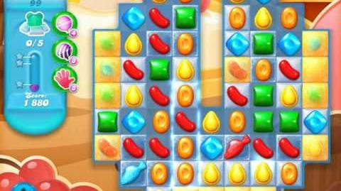 Candy Crush Soda Saga Level 99 (3rd version, 3 Stars)