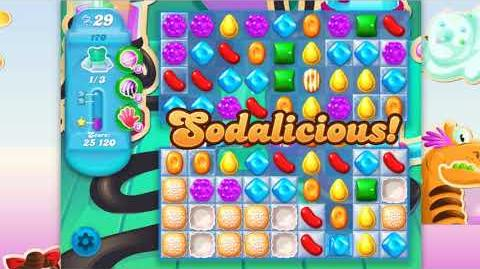 Candy Crush Soda Saga - Level 170 - No boosters ☆☆☆