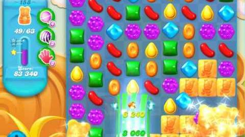 Candy Crush Soda Saga Level 158 (7th version)