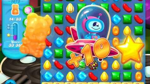 Candy Crush Soda Saga Level 1673 (3 Stars)
