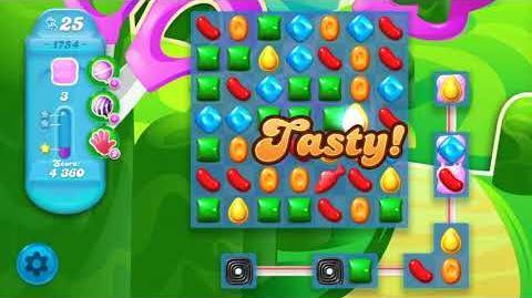 Candy Crush Soda Saga Level 1754 (3 Stars)