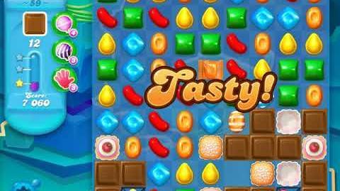 Candy Crush Soda Saga Level 59 (2nd version, 3 Stars)