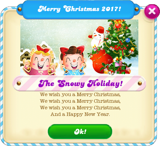 Merry Christmas 2017 message