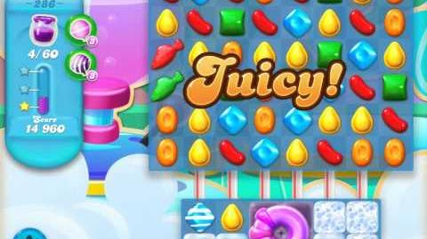 Candy Crush Soda Saga Level 286 (2nd version, 3 Stars)