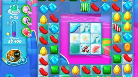 Candy Crush Soda Saga Level 458 (4th version)