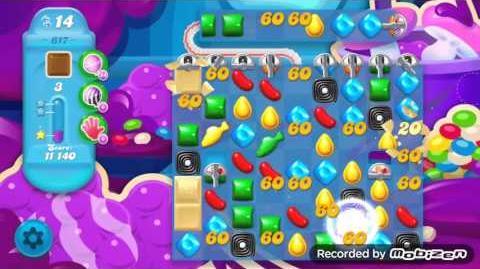 Candy Crush Soda Saga Level 617 (3 Stars)