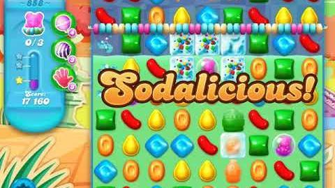 Candy Crush Soda Saga Level 858 (nerfed)