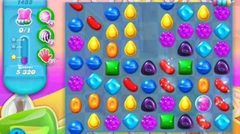 Candy Crush Soda Saga Level 1432 (buffed, 3 Stars)