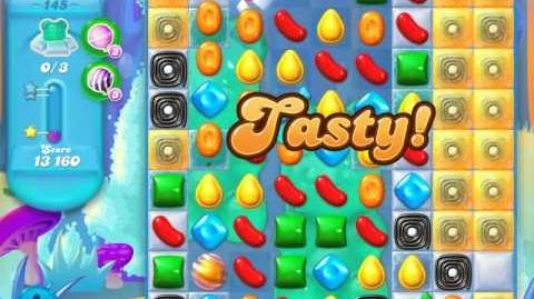 Candy Crush Soda Saga Level 145 (6th version, 3 Stars)