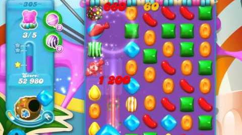 Candy Crush Soda Saga Level 305 (nerfed, 3 Stars)