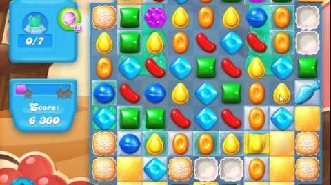Candy Crush Soda Saga Level 105 (nerfed, 3 Stars)