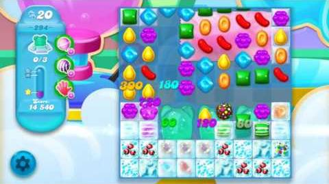 Candy Crush Soda Saga Level 294 (4th version, 3 Stars)