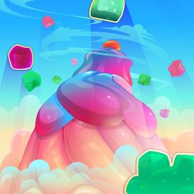 Jellylicious Mountain background