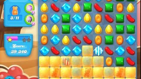Candy Crush Soda Saga Level 102 (2nd nerfed, 3 Stars)