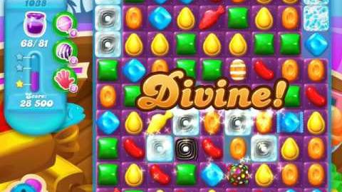 Candy Crush Soda Saga Level 1038 (nerfed, 3 Stars)