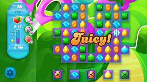 Candy Crush Soda Saga Level 1751 (3 Stars)